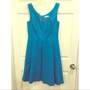 Calvin Klein turquoise dress size 8